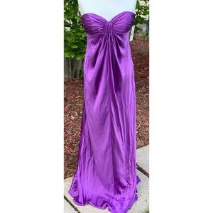 Laundry By Shelli Segal Purple Gown